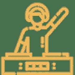 Icon DJ animation entreprise